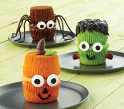 Cake Decorating Michaels Classes : NEW! Creepy Cupcakes for Kids - Wilton Cake Decorating ...